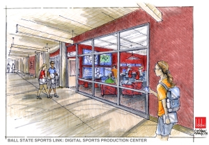 New Ball State Digital Sports Production Center